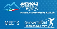 07.06.19 – WORLD CHAMPIONSHIPS BIATHLON ANTHOLZ 2020 meets GSIESERTAL LAUF